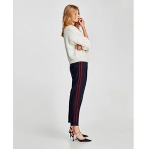 Zara Basic Pinstripe Joggers